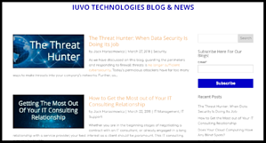iuvo blog subscription